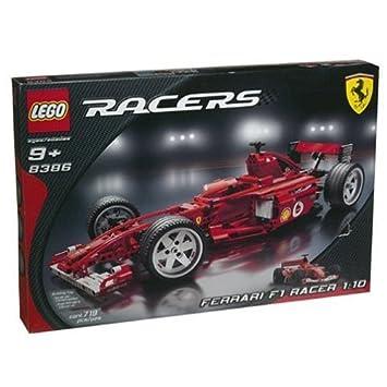 Lego Racers 8386 Ferrari F1 Racer 110 Amazon Toys Games
