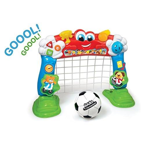 chollos oferta descuentos barato Baby Clementoni Cuenta Goles Portería Fútbol Interactiva Multicolor 550487