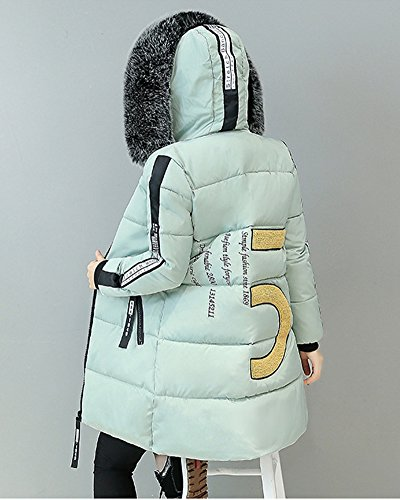 Viento De Prueba Verde Chaqueta chaqueta Mujer Chaqueta Impermeable A Invierno Ligero Ultra Abajo Wan0qw8qY7