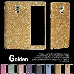 Shining Diamond Powder Design Full Body Protective Film for Samsung Galaxy Note 4 (Assorted Colors) , Green