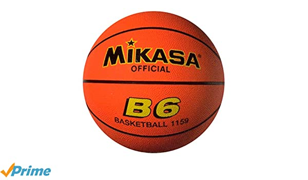 Mikasa B-6 - Balón de baloncesto, Naranja (Orange), 6: Amazon.es ...