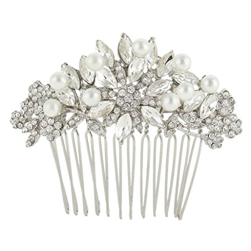 ever-faith-silver-tone-austrian-crystal-cream-simulated-pearl-bridal-lots-leaves-flowers-hair-comb-c