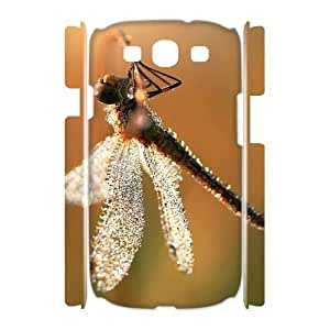 Beautiful Dragonfly Unique Design 3D Cover Case for Samsung Galaxy S3 I9300,custom cover case ygtg-310271