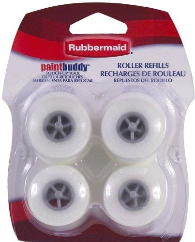 Shur-Line 57933 Rubbermaid Paint Buddy Roller Refills, 4-Pack