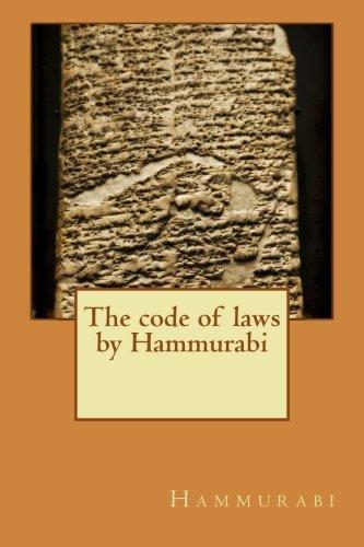 Download The code of laws by Hammurabi PDF