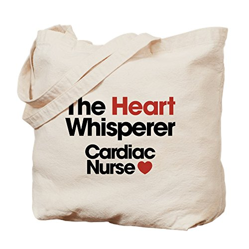 The Cafepress Cardiac Bolsa Caqui Medium Whisperer Lona Enfermera Para Heart 1rqrnPwx7d