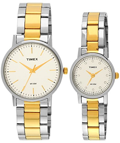 Timex-Analog-Dial-Watch-Silver