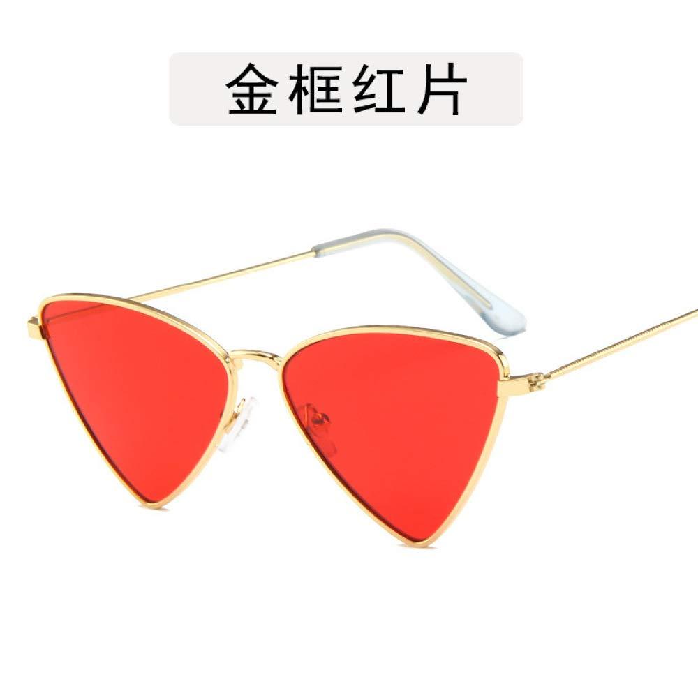 Yangjing-hl Gafas Anti-BLU-Ray Gafas de Sol de Metal Marino ...
