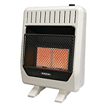 Reddy Heater 18,000-20,000 BTU Infrared Dual-Fuel Wall Heater with Blower