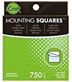 Therm O Web Mounting Squares Permanent, 1/2 Inch x 1/2 Inch, 750 Count, White