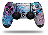 Graffiti Splatter – Decal Style Wrap Skin fits Sony PS4 Dualshock Controller (CONTROLLER NOT INCLUDED) by WraptorSkinz
