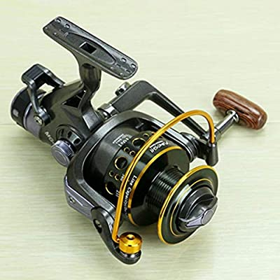 Whiteswan YUMOSHI Fishing Reel 10+1 Ball Bearings Front Rear Dual Brake System Metal Coil Bait Casting Fishing Reel for Outdoor Fishing