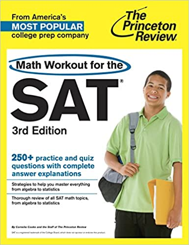 Amazon com: Math Workout for the SAT, 3rd Edition (College