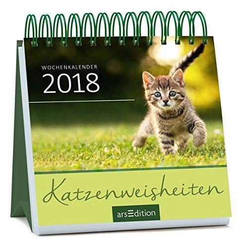 Katzenweisheiten 2018: Mini-Kalender
