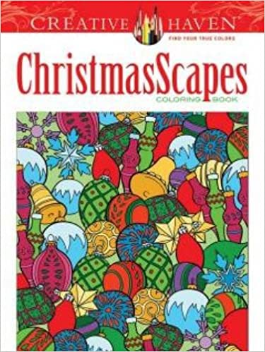 Amazon Creative Haven ChristmasScapes Coloring Book Adult 9780486791876 Jessica Mazurkiewicz Books