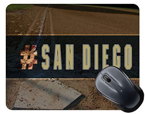 BRGiftShop Hashtag San Diego #SanDiego Baseball Team Square Mouse Pad]()