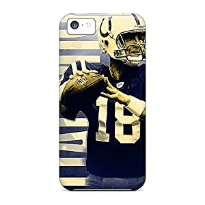 Fashion Tpu Case For Iphone 5c- Indianapolis Colts Defender Case Cover