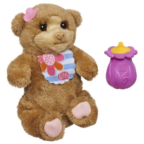 FurReal Friends Feed Me Babies Burpsie Bear Pet