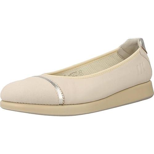 Lumberjack SW26404 Blanc - Chaussures Ballerines Femme