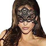 women's sexy lace masks venetian masquerade ball party mask black soft lace eye protection