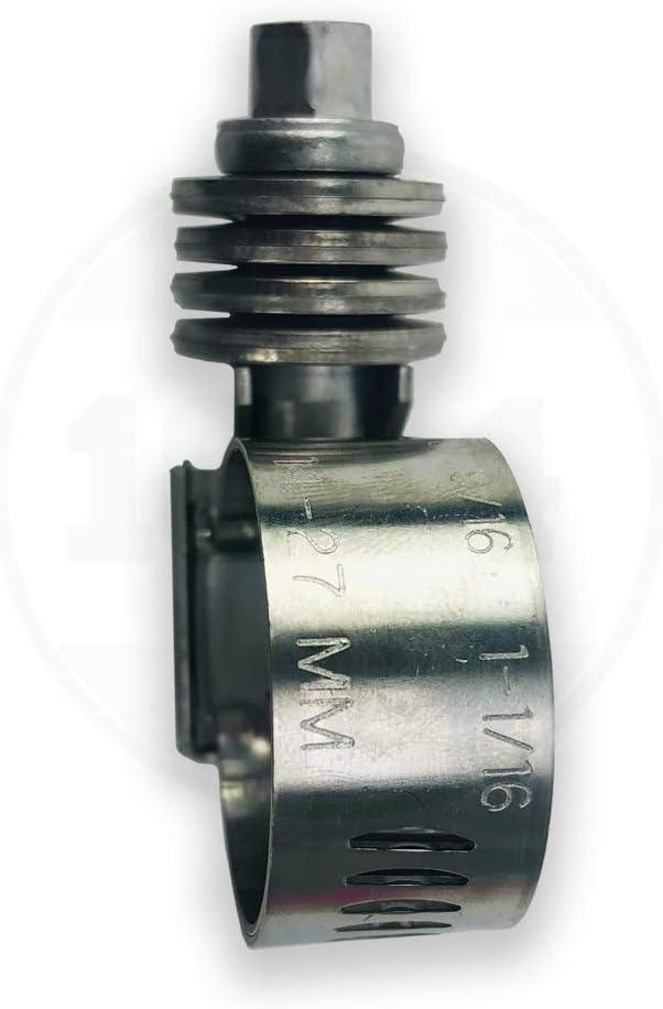 Breeze CT-250L Heavy Duty Constant Torque Liner Clamp with Stainless Screw Effective Diameter Range 1-3//4-2-5//8 45mm - 67mm