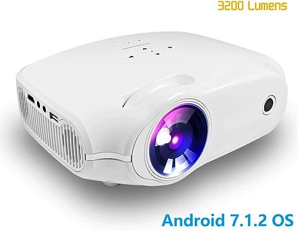 ZYLFN Vídeo proyector portátil Mini proyectores de Cine en casa ...