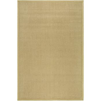 natural fiber rectangular sisal rug 8 ft x 5 ft