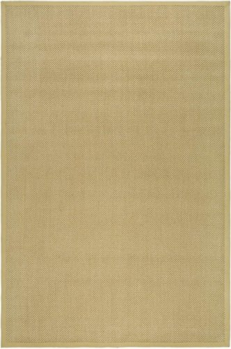 6' x 6' Square Safavieh Area Rug NF443A-6SQ Maize/Wheat Color Power Loomed India ''Natural Fiber Collection''