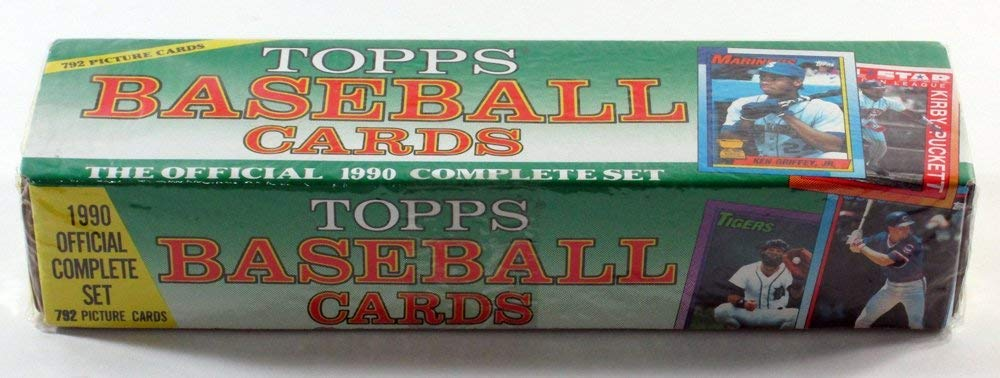Topps Baseball Cards The Official 1990 Complete Set
