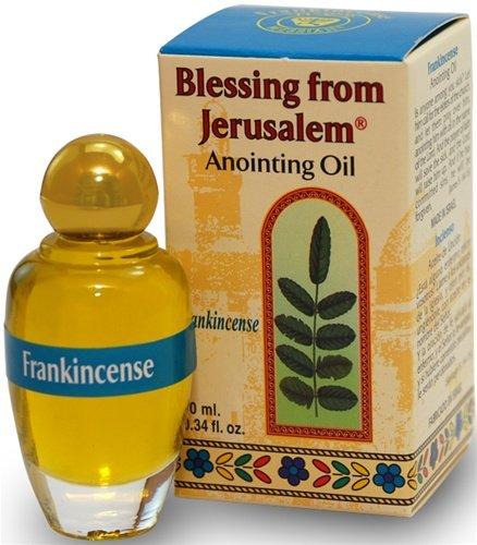 Holy Land Market Blessing from Jerusalem Anointing oil - 10ml (.34 fl. oz.) (Frankincense) ()