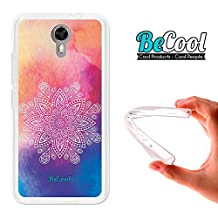 Ulefone Power 2 Cover Gel Flexible, TPU Case made out of the best Silicone, protects and adapts flawlessly to your Smartphone, together with our exclusive designs Becool Premium®. Mandala Fantasy.