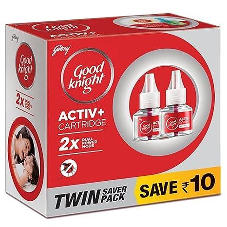 Good knight Activ+ Liquid Refill, 45ml (Pack of 2) Red
