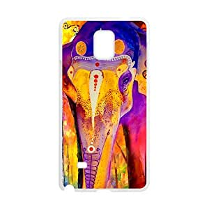Colorful elephant Cell Phone Case for Samsung Galaxy Note4