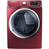 "Samsung DV42H5400EF 27"" Electric Dryer with 7.5 cu. Ft. Capacity, in Merlot"