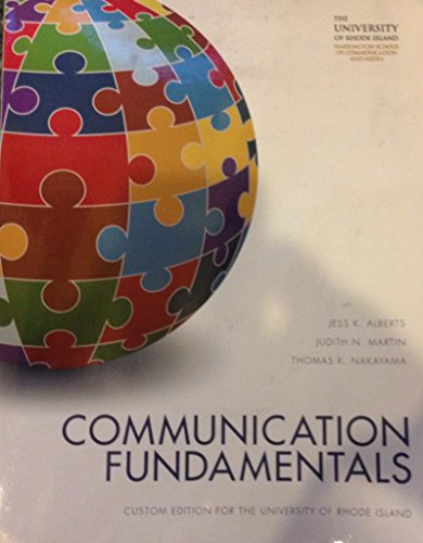 Communication Fundamentals - Communication Fundamentals (Textbook Binding)