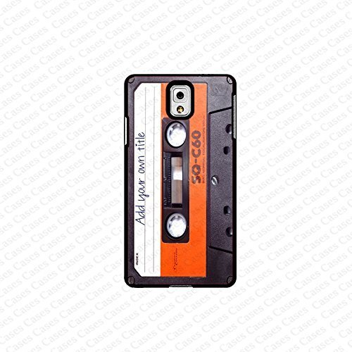krezy case Galaxy Note 4 case- customized cassette with your own title samsung Galaxy Note 4 case- Cute Note Case...
