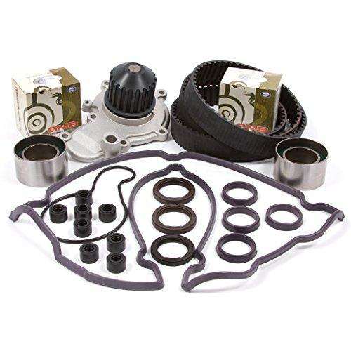 95-99 Chysler Dodge Eagle Mitsubishi Plymouth 2.0 DOHC 16V 420A Timing Belt Kit Water Pump Valve Cover Gasket