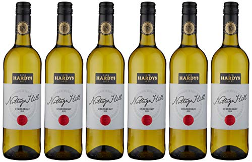 Hardys Nottage Hill Chardonnay Wine, 750ml – Pack of 6