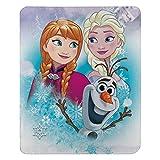 """Disney Frozen, """"Snow Journey"""" Fleece Throw"""