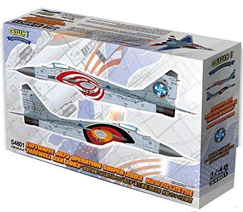 Great Wall Hobby 1/48 MiG-29 Fulcrum Late 9-12 Luftwaffe JG73 Op Sniper 2003 Farew (48 Mig 29 Fulcrum)