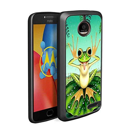 Cute Frog Moto E4 Soft TPU Case [5in]