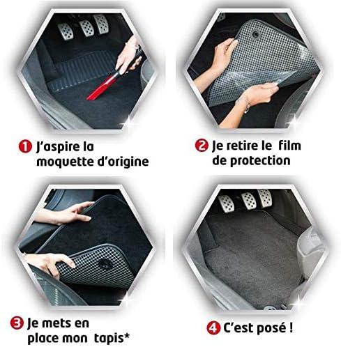 sur Mesure Antid/érapant Finition Velours Moquette Haute Qualit/é 1000g//m/² DBS Tapis Auto Tapis de Sol pour Voiture 3 Pi/èces Gamme 1765234