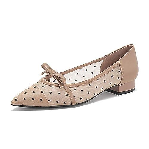 YXX-Zapatos para mujer Mocasines sin Cordones para Mujer, Zapatos de tacón bajo con Cordones para Mujer, Zapatos Planos para Mujer Mary Jane: Amazon.es: ...