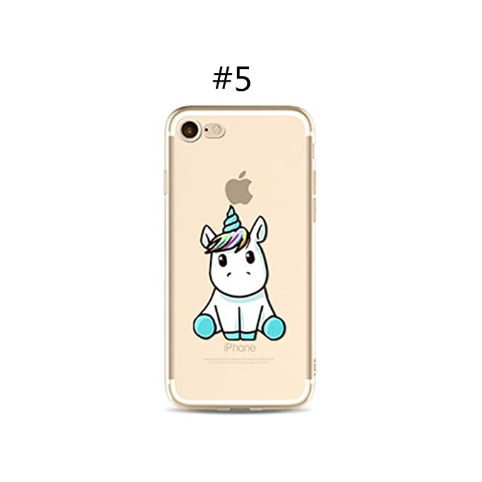 Rainbow Fox Custodia Per Iphone Colorata Con Disegni Di Unicorni