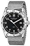 Victorinox Unisex 241649 'Infantry' Stainless Steel Watch with Mesh Bracelet