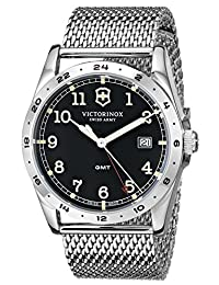 """Victorinox Unisex 241649 """"Infantry"""" Stainless Steel Watch with Mesh Bracelet"""