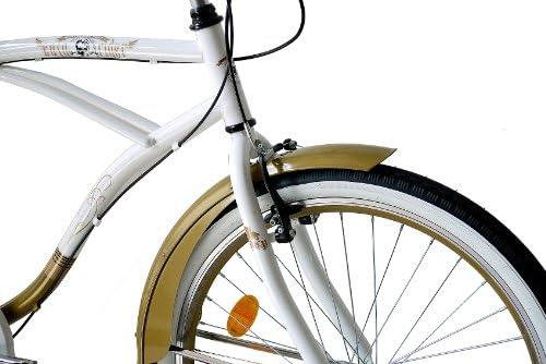 Gaetooely Cadena de Enlace de 96 de 1//2 X 1//8 de Sola Velocidad de Bicicleta de Carretera de BMX Blanco