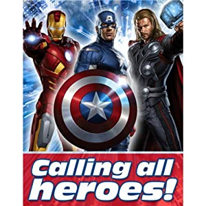 Amazon.com: The Avengers Party Invitations (8 ct): Toys & Games