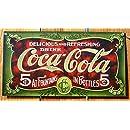 Coca- Cola Tin Sign 16 x 9in