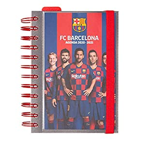 Diario Scuola Giornaliero 2020/2021, 11 mesi, 11,4x16 cm - FC Barcelona 9 spesavip